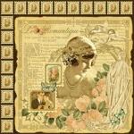 Двусторонняя бумага Le' Romantique