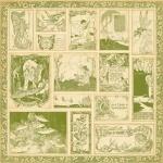 Двусторонняя бумага Enchanted Forest