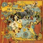 Двусторонняя бумага Le Cirque