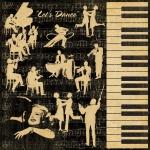 Двусторонняя бумага Let's Dance