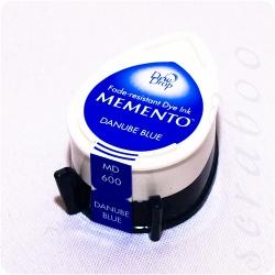 Водорастворимые чернила Memento Dew Drop цвет  Danube Blue