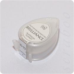 Пигментные перламутровые чернила  Brilliance Dew Drop  цвет Platinum Planet