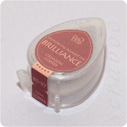 Пигментные перламутровые чернила  Brilliance Dew Drop  цвет Crimson Copper