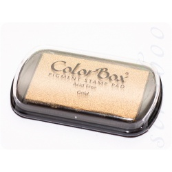 Пигментные чернила ColorBox цвет Gold