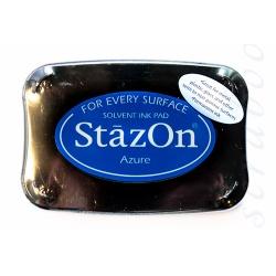 Перманентные чернила Stazon цвет Azure