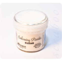 Пудра для эмбоссинга Embossing Powder цвет Clear