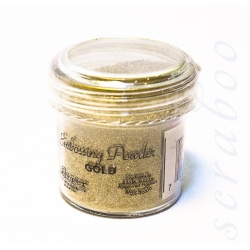 Пудра для эмбоссинга Embossing Powder цвет Gold