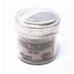 Пудра для эмбоссинга Super Fine Detail цвет Silver