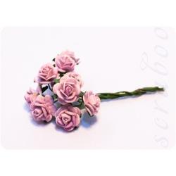 Букетик светло-фиолетовых роз, 10мм