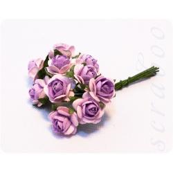 Розы светло-фиолетовые, 10 мм