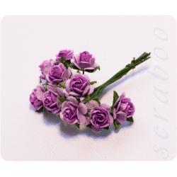 Букетик фиолетовых роз, 10мм