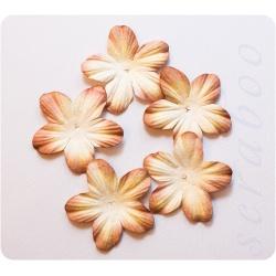 Бумажные цветочки, 5 шт