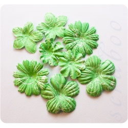 Цветы зеленый микс, 8 шт