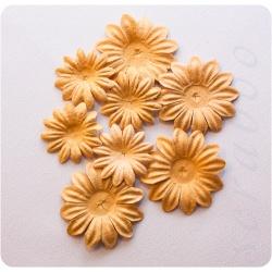 Цветы бежевый микс, 8 шт