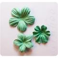 Цветы зеленый микс, 3 шт