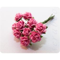 Букетик ярко-розовых роз, 10 мм