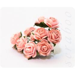 Букетик светло-розовых роз, 10мм