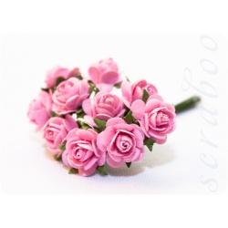 Букетик розовых роз, 10мм
