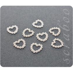 Набор жемчужных сердечек,  11 мм,  50 шт