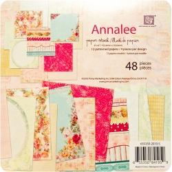 "Набор бумаги Prima ""Annallee"", 15х15 см, 48 листов"