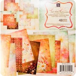 "Набор бумаги Prima ""Fairy Flora"", 15х15 см, 48 листов"