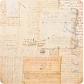 Двусторонняя бумага Script
