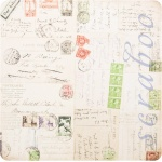 "Набор бумаги K&Company ""Life's Journey"" 30х30 см, 12 листов"