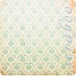 """Набор бумаги K&Company """"Classic K Charlotte"""" 30х30 см, 12 листов"""