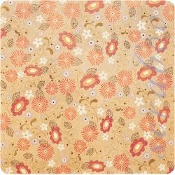 Односторонняя бумага с глиттером Desert Blooms