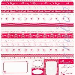Двусторонняя бумага Tilda Santa's Christmas