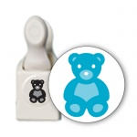 "Фигурный дырокол Martha Stewart ""Embossed teddy bear """