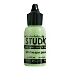 Акриловая краска Studio Semi-Gloss Landscape Green
