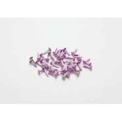 Набор брадс, 50 шт, лиловые