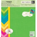 "Набор бумаги K&Company ""Color Basics Radiant"" 30х30 см, 18 листов"