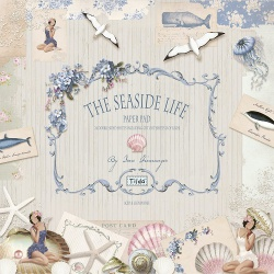 "Набор бумаги ""The Seaside Life"", 30х30 см, 8 листов"