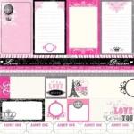 Двусторонняя бумага Journal Cards