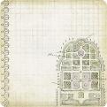 Односторонняя бумага с глиттером Chateau Lavender
