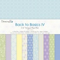 "Набор бумаги ""Back to Basics IV"", 15х15 см, 12 листов"