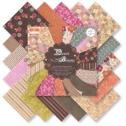 "Набор бумаги ""Desert Blooms"", 15х15 см, 16 листов"