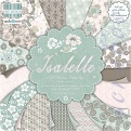 "Набор бумаги ""Isabelle"", 15х15 см, 16 листов"