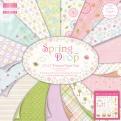 """Набор бумаги """"Spring Drop"""", 30х30 см, 16 листов"""