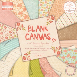 "Набор бумаги ""Blank Canvas"", 15х15 см, 16 листов"