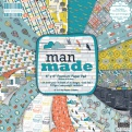 "Набор бумаги ""Man made"", 15х15 см, 16 листов"