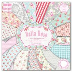 Набор бумаги 30*30 см 16 листов Bella Rose
