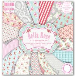 Набор бумаги 15*15 см 16 листов Bella Rose