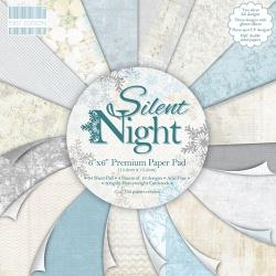 "Набор бумаги ""Silent Night"", 15х15 см, 16 листов"