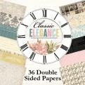 "Набор бумаги ""Classic Elegance"" 15х15 см, 36 листов"