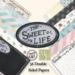 "Набор бумаги ""The Sweet Life"" 15х15 см, 36 листов"