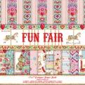 Набор бумаги 15*15 см 12 листов Fun Fair