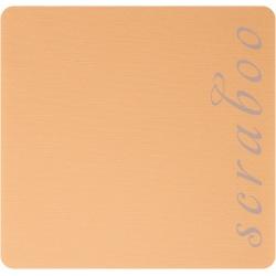 Кардсток  Bazzill Basics Peachpuff,  c текстурой холста